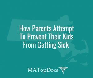 How Parents Attempt To Prevent Their Kids From Getting Sick